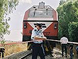 Авария на железной дороге в Израиле (архив)