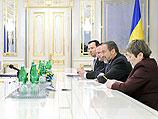 Во время визита израильской делегации в Киев