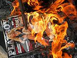 Сожжение эротических журналов в мусульманской стране (архив)