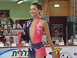 Ирина Рисензон выходит на ковер (упражнения со скакалкой). Холон, 4 сентября 2010 года