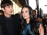 Эштон Кутчер и Деми Мур. Июнь 2010 года