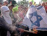 Антиизраильская демонстрация в Джакарте