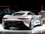Электромобиль Jaguar CX75