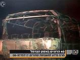 Разрешено к публикации: в сгоревшем автобусе находились не заключенные, а сотрудники ШАБАС