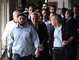 Моше Кацав в Окружном суде Тель-Авива. 30 декабря 2010 года