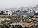 Недостроенный забор безопасности на границе между Иерусалимом и Вифлеемом