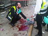 На месте теракта. Иерусалим, 23 марта 2011 года