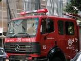 В Хадере сгорел грузовик с газовыми баллонами – взрыва удалось избежать