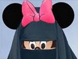 Карикатура бородатого Микки Мауса и его подружки в чадре взорвала Египет
