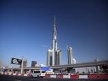 Башня Burj Khalifa в Дубаи высотой 828 метров