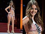 """Ким Эдри (Израиль) на конкурсе """"Мисс Вселенная 2011"""". Сан-Пауло, 10 сентября 2011 года"""