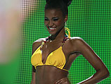 """Лейла Лопес, победительница конкурса """"Мисс Вселенная 2011"""""""