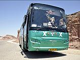Автобус маршрута 392, обстрелянный террористами под Эйлатом. 18.08.2011