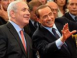 Премьер-министр Израиля Биньямин Нетаниягу и глава правительства Италии Сильвио Берлускони. Рим, июнь 2011 года