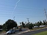 """Испытания ракетной системы на базе """"Пальмахим"""". 2 ноября 2011 года"""