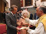 Свадьба 85-летней герцогини Альба и 60-летнего Альфонсо Диаса