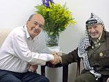 Йоси Сарид и Ясер Арафат. 2001-й год