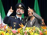 Президент Ирана Махмуд Ахмадинеджад на военном параде