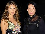 Даша Жукова и Марина Абрамович. Майами-Бич, 1 декабря 2011 года