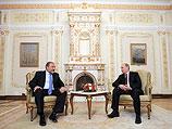 Владимир Путин и Авигдор Либерман