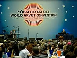 """Конгресс """"Арвут"""" в Тель-Авиве: объединение людей, стремящихся объединить весь мир. Репортаж"""