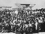 Армянские дети в лагере для депортированных, 1915 год