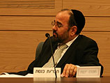 Министр по делам религии Яаков Марги