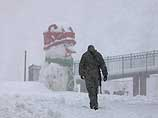 Снегопад на Хермоне (архив)