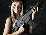 """Фотосессия в стиле """"милитари"""" (иллюстрация, прямого отношения к скандалу в Израиле не имеет)"""