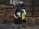 Дождливая пятница в Израиле: до 70 мм осадков, в горах выпал снег