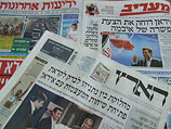 """Обзор ивритоязычной прессы: """"Маарив"""", """"Едиот Ахронот"""", """"Гаарец"""", """"Исраэль а-Йом"""". Понедельник, 9 апреля 2012 года"""