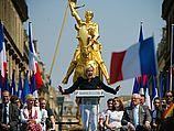 Марин Ле Пен на праздновании Первомая в 2011 году