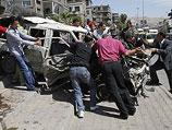 После теракта в Дамаске (архив)
