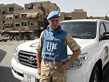 Наблюдатель ООН на месте теракта в Дамаске. 10 мая 2012 года