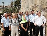 Министр просвещения Гидеон Саар и высшее руководство ведомства посетили Хеврон с экскурсией, организованной по тому же плану, что и для школьников