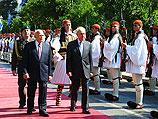 Шимон Перес прибыл в Грецию обсуждать военный союз и энергетику