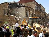Иерусалим: дом, в котором обрушился этаж, пришлось снести