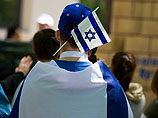 Еврея и его собаку с израильским флагом атаковали участники исламского митинга (иллюстрация)