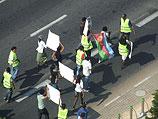 Демонстрация выходцев из Эритреи. Тель-Авив, 18 октября 2012 года
