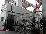 """""""Пограничники"""" из боевого подразделения ХАМАСа на пограничном переходе Рафах (Рафиах)"""