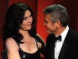Джулианна Маргулис и Джордж Клуни в 2010-м году
