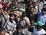 Похороны членов семьи Джабари. Газа, август 2004 года