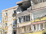 Кирьят-Малахи после ракетного обстрела. 15 ноября 2012 года