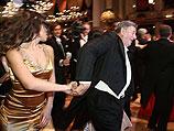 Карима Махруг и миллиардер Ричард Люгнер на Венском балу. 3 марта 2011 года