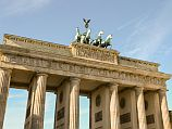 Бранденбургские ворота в Берлине. Второе место рейтинга сохранила за собой Германия с 5,39 балла.