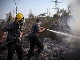 Пожары в северном районе Израиля