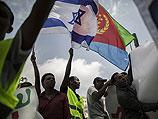 Около офиса Нетаниягу прошла манифестация эритрейцев