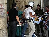 Эвакуация раненых в теракте возле поселения Бейт-Хагай, 14 июня 2010 года