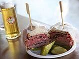 Сэндвич с пастрамой (иллюстрация)