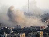 Египетские военные взрывают туннели на границе сектора Газы. Вид со стороны палестинского Рафаха